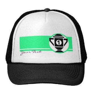 1st Place Trophy Design Trucker Hat