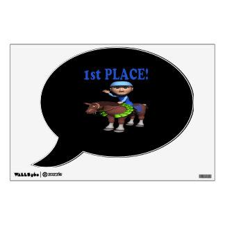 1st Place Wall Sticker