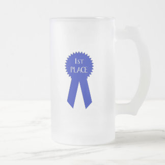 1st Place Winner - Customized Frosted Glass Beer Mug