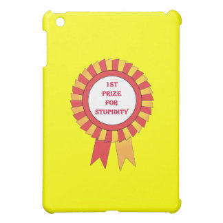 1st prize for stupidity iPad mini covers