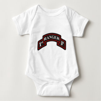 1st Ranger Battalion 75th Ranger Regiment Baby Bodysuit