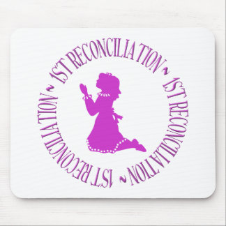 1st Reconcilation - First Confession (girl) Mouse Pad