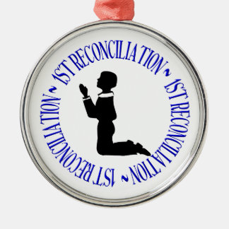 1st Reconcilation - First Confession Metal Ornament