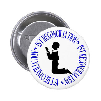1st Reconcilation - First Confession Pinback Button