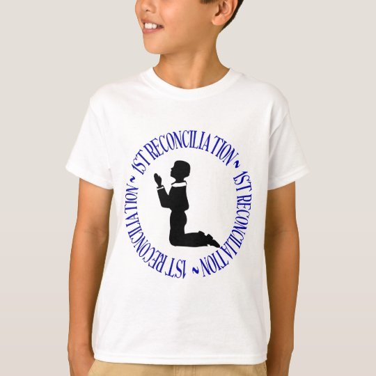 1st Reconcilation - First Confession T-Shirt
