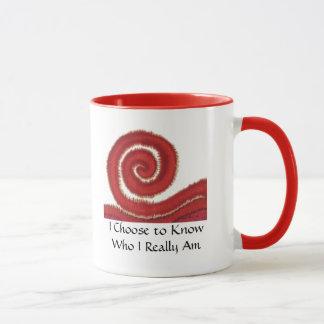 1st-Root Chakra #1: I Choose to Know Who I... Mug
