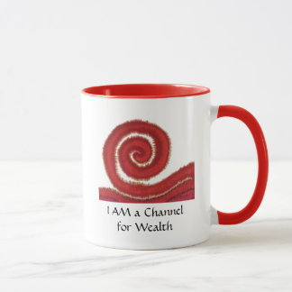 1st-Root Chakra#1: Money-I Am a Channel for Wealth Mug