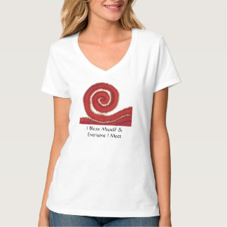 1st-Root Chakra#1: Money-I Bless Myself... T-Shirt