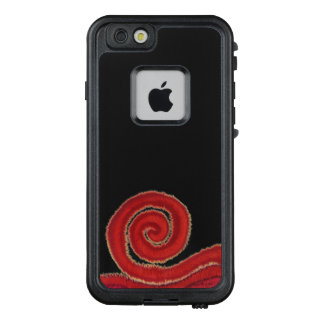 1st-Root Chakra#1 Red Spiral LifeProof FRĒ iPhone 6/6s Case