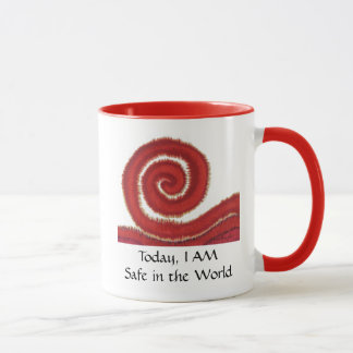 1st-Root Chakra #1- Today, I AM Safe in the World Mug