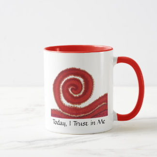 1st-Root Chakra #1- Today, I Trust in Me Mug