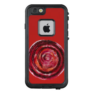 1st-Root Chakra #2 Red Spiral Artwork LifeProof FRĒ iPhone 6/6s Case