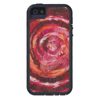 1st-Root Chakra Red Paint-Fabric #2 iPhone SE/5/5s Case