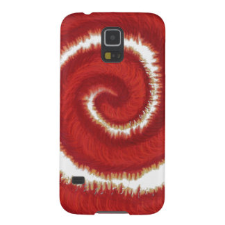 1st-Root Chakra Red Spiral Artwork #1 Case For Galaxy S5