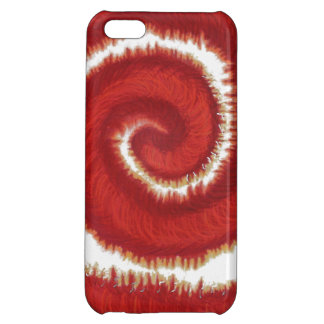 1st-Root Chakra Red Spiral Artwork #1 Case For iPhone 5C