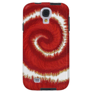 1st-Root Chakra Red Spiral Artwork #1 Galaxy S4 Case