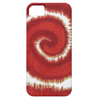 1st-Root Chakra Red Spiral Artwork #1 iPhone SE/5/5s Case