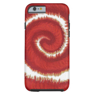 1st-Root Chakra Red Spiral Artwork #1 Tough iPhone 6 Case