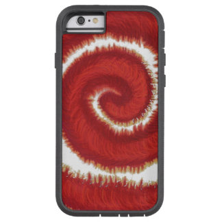 1st-Root Chakra Red Spiral Artwork #1 Tough Xtreme iPhone 6 Case