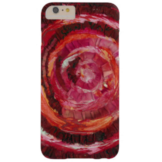 1st-Root Chakra Red Spiral Fabric-Paint #2 Barely There iPhone 6 Plus Case
