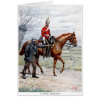 1st Royal Dragoons Card