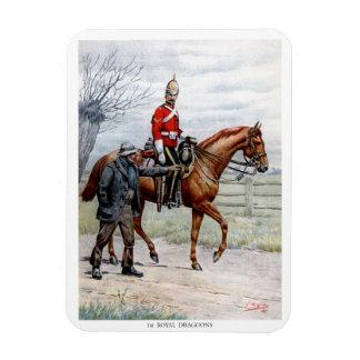 1st Royal Dragoons Magnet