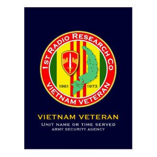 1st RRC 2 - ASA Vietnam Postcard