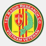 1st RRC 2 - ASA Vietnam Round Stickers