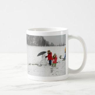 1ST SNOWMAN, PROUD TO SAY:MERRY CHRISTMAS!HAPPY... COFFEE MUG