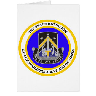 1st Space Battalion Card