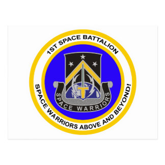 1st Space Battalion Postcard