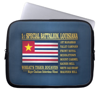 1st Special Battalion, Louisiana Infantry (BA2) Laptop Computer Sleeve