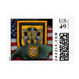 1st special forces Green Berets nva  postage stamp