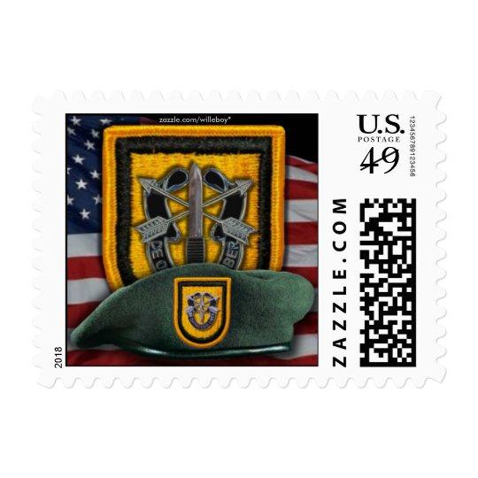 1st special forces Green Berets nva  postage stamp
