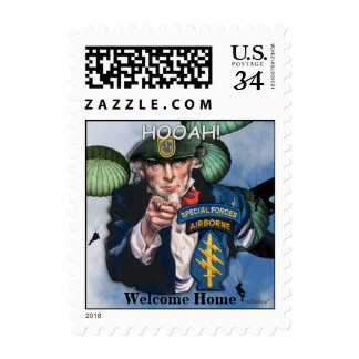1st Special Forces Green Berets Postage Stamps