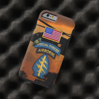 1st Special Forces Green Berets SF SFG SOF Vets Tough iPhone 6 Case