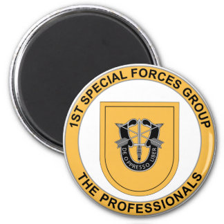 1st Special Forces Group 2 Inch Round Magnet