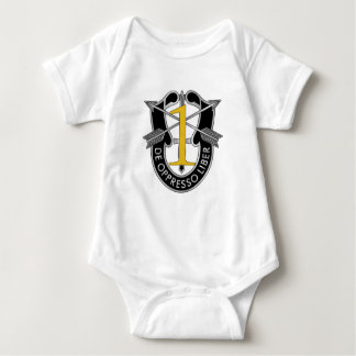 1st Special Forces Group Crest Baby Bodysuit