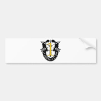 1st Special Forces Group Crest Bumper Sticker