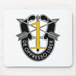1st Special Forces Group Crest Mouse Pad