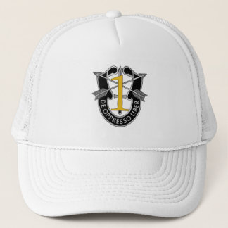 1st Special Forces Group Crest Trucker Hat