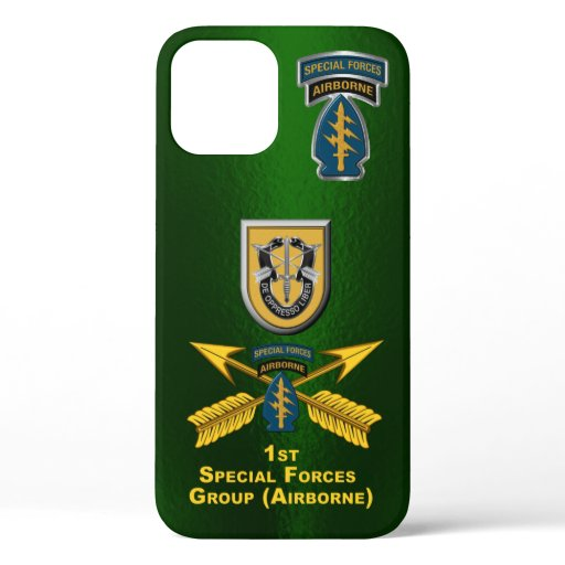 1st Special Forces Group Customized iPhone 12 Case
