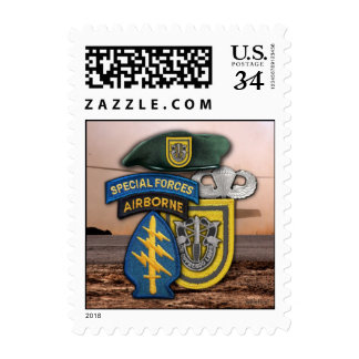 1st Special Forces Group Green Berets SFG SF Postage