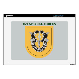 """1st Special Forces Group With Text Decal For 15"""" Laptop"""