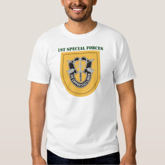 1st Special Forces Group With Text Shirt