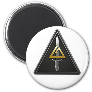 1st Special Forces Operational Detachment-Delta 2 Inch Round Magnet