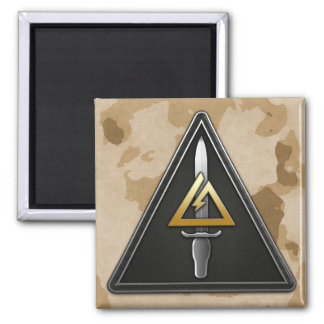 1st Special Forces Operational Detachment-Delta 2 Inch Square Magnet