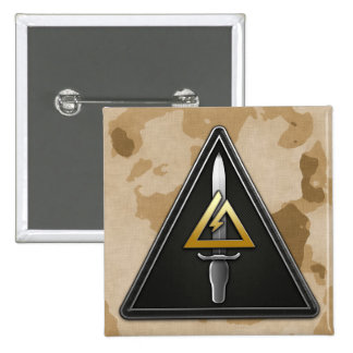 1st Special Forces Operational Detachment-Delta 2 Inch Square Button