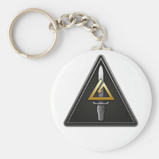 1st Special Forces Operational Detachment-Delta Basic Round Button Keychain