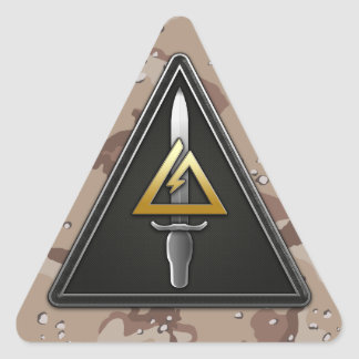 1st Special Forces Operational Detachment-Delta Triangle Sticker